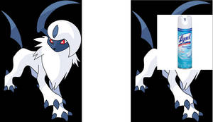 Sorry.. But Absol? More like Lysol.