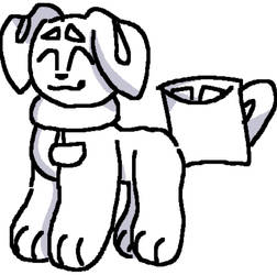 Take your cocoa on the go! I Aggie drawing
