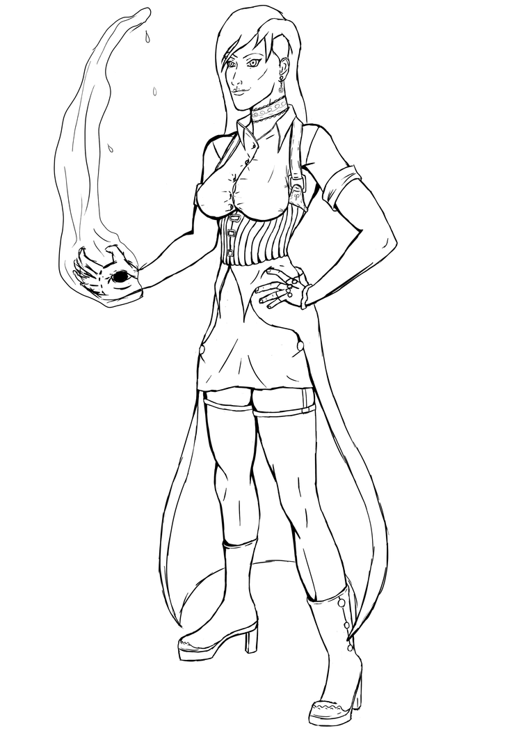 Steampunk sketch by krissar