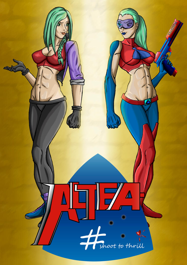 ALTEA comic cover by krissar
