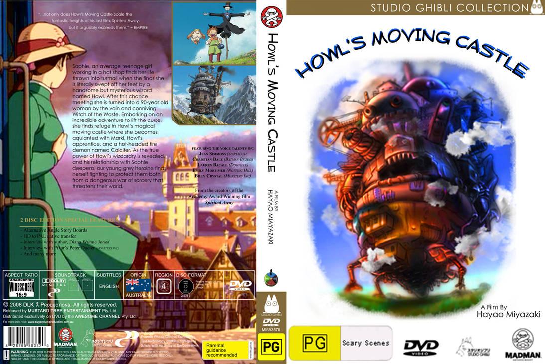 NEW Howl's Moving Castle DVD