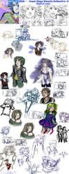 DCM-Super Sketch Collective2- digi only by DCMasquerade