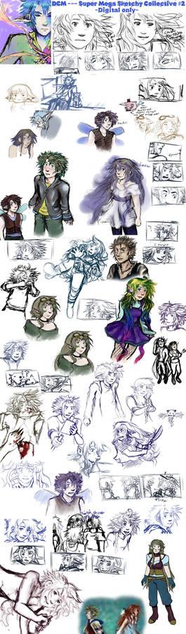 DCM-Super Sketch Collective2- digi only