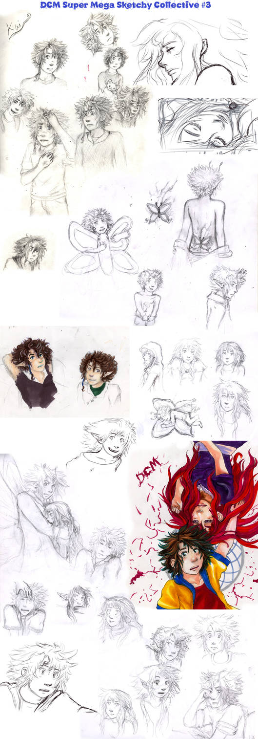 DCM - Super Mega Sketch Collective #3