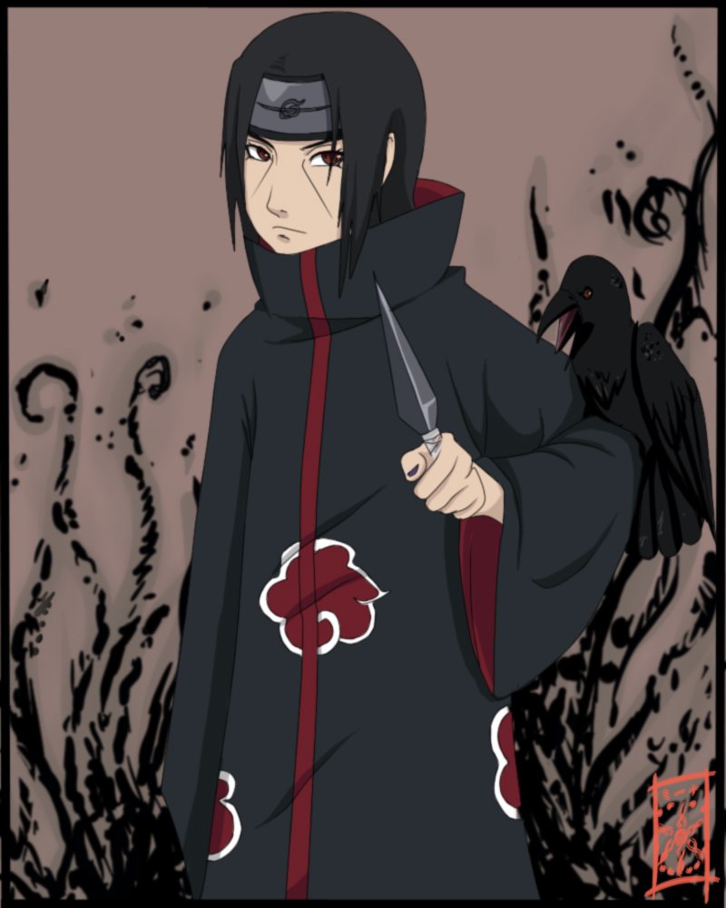 Itachi No Amaterasu By Zerucune On DeviantArt