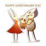 Happy anniversary, Hollow Knight!