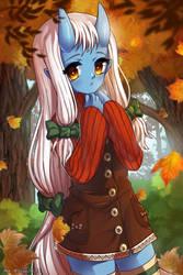 Autumn Leaves by izzebizze