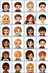 Disney Characters- Lunaii