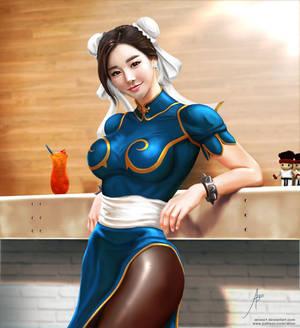 Chun-Li Fan Art 04