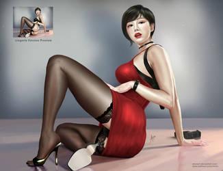 Ada Wong Fan Art by arion69