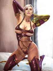 Ivy Valentine on bed by arion69