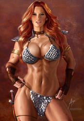 Red Sonja by arion69