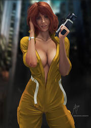 April O'Neil by arion69