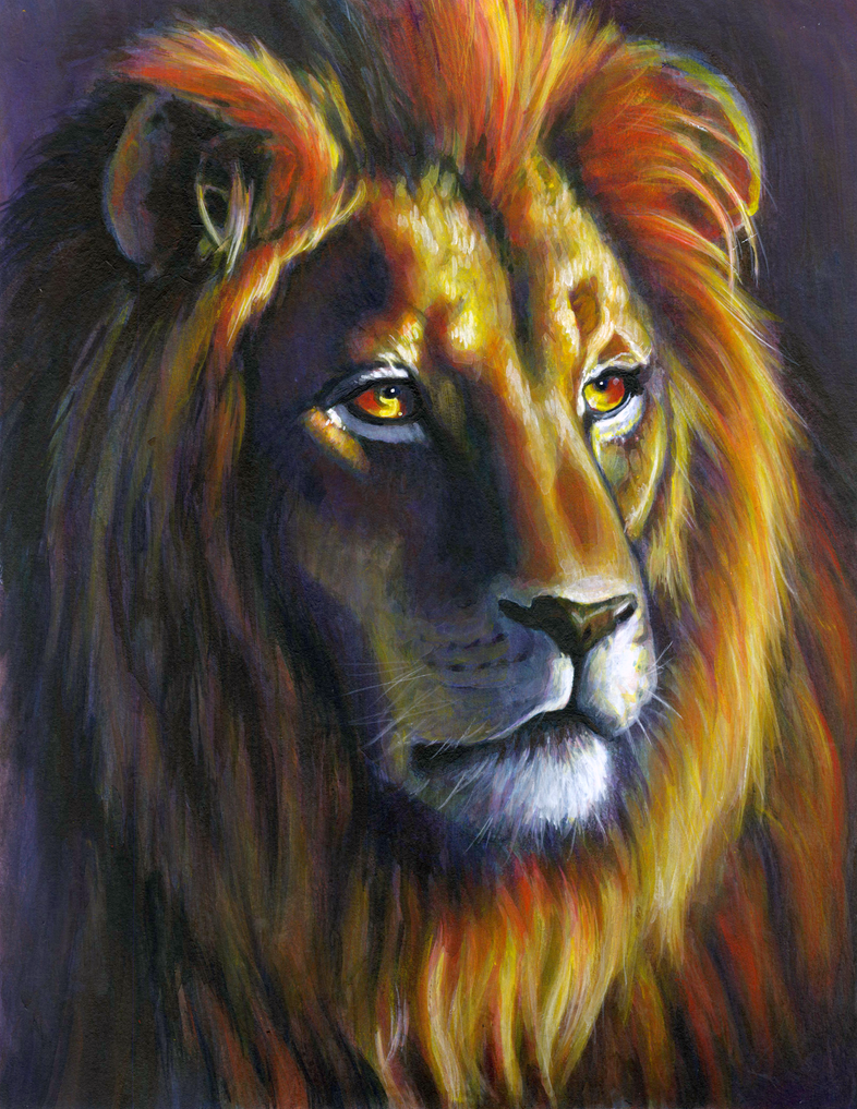 The Lion by Erlson