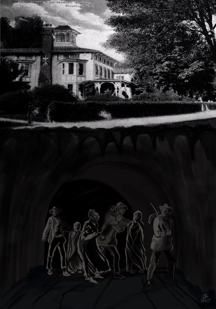 Path in the Darkness (Underground Railroad Tribute by AnansiOneiros