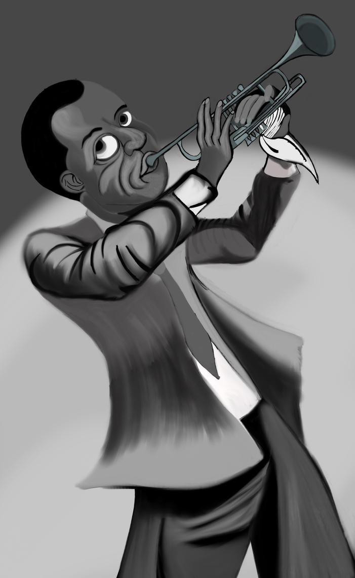 Now Appearing, Louis Armstrong by AnansiOneiros
