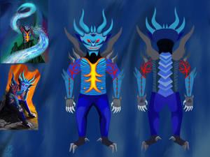 Alastor (Infernal Paradise) Character Sheet.