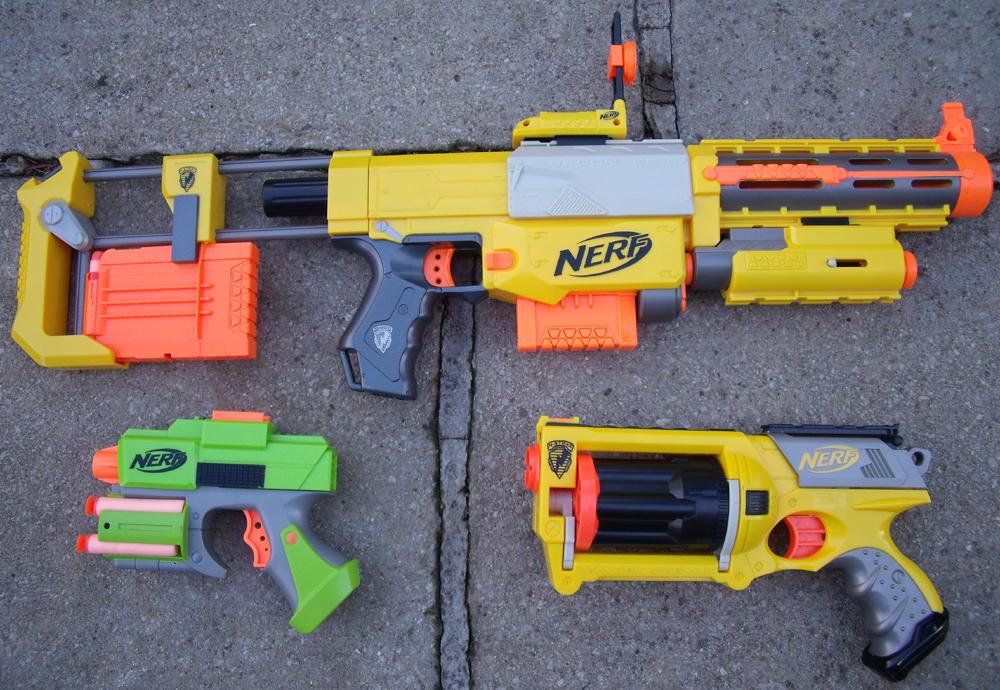 My nerf guns by jchusky26 on deviantart - Nerf wallpaper ...