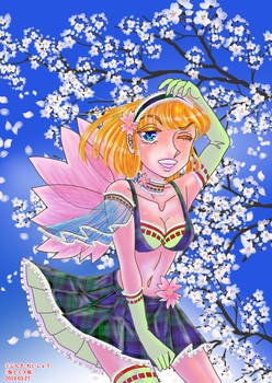 SAKURA(Cherry blossoms) AND Misss SAKURA
