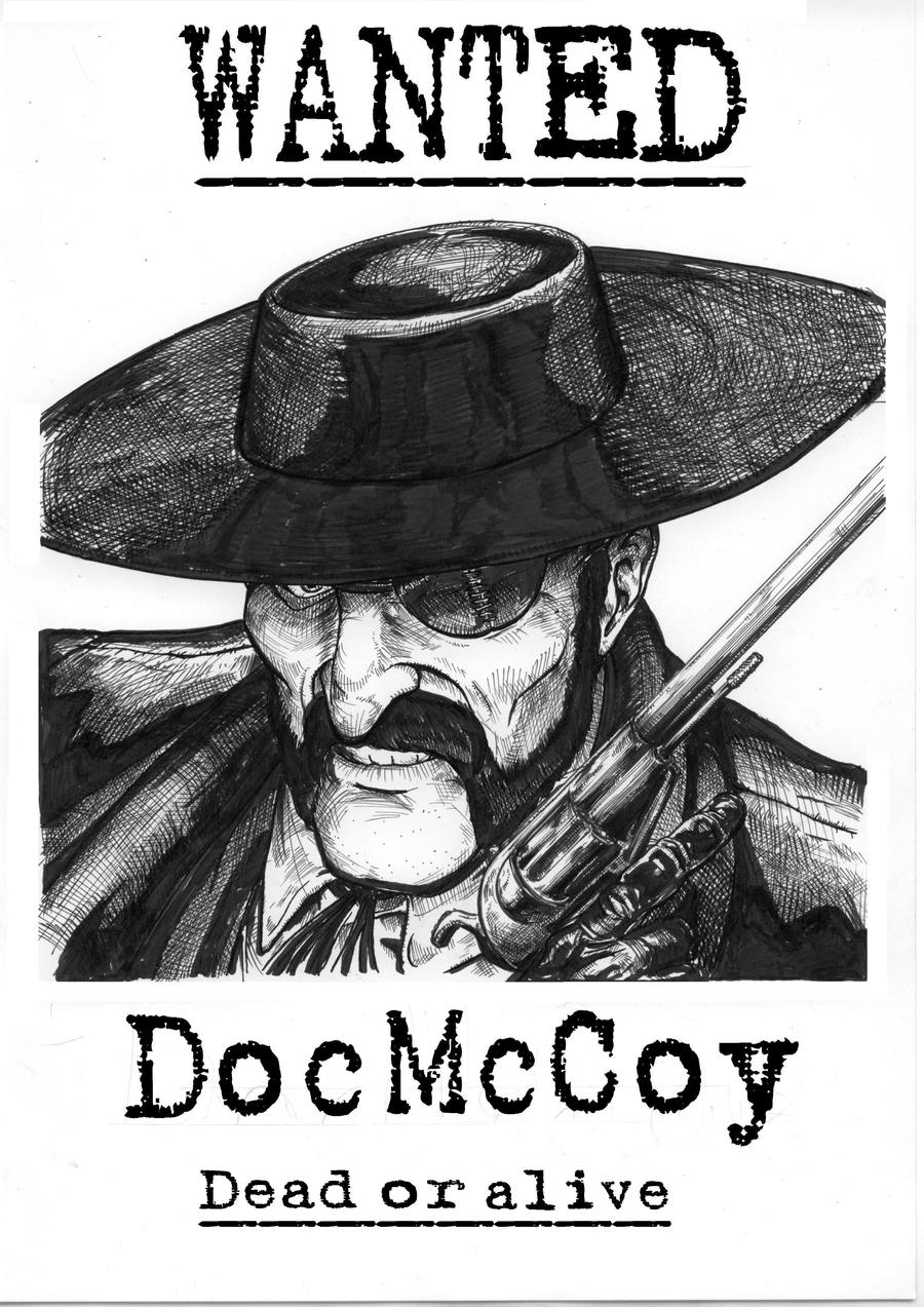 Doc Mccoy By Tarontpainter On Deviantart