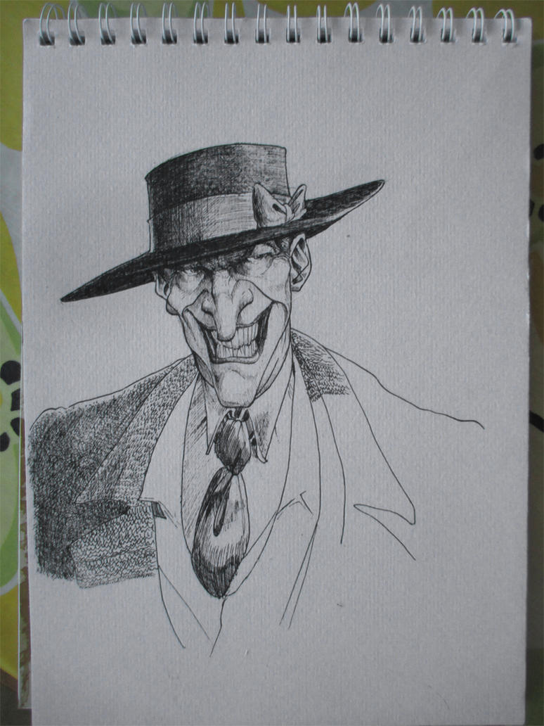 Sketchy gangster by TarontPainter