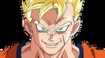 Mirai Gohan Super Saiyajin (Sonrisa Psicopata)