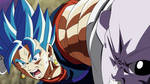 Vegetto Ssj Blue Evolucionado VS Jiren