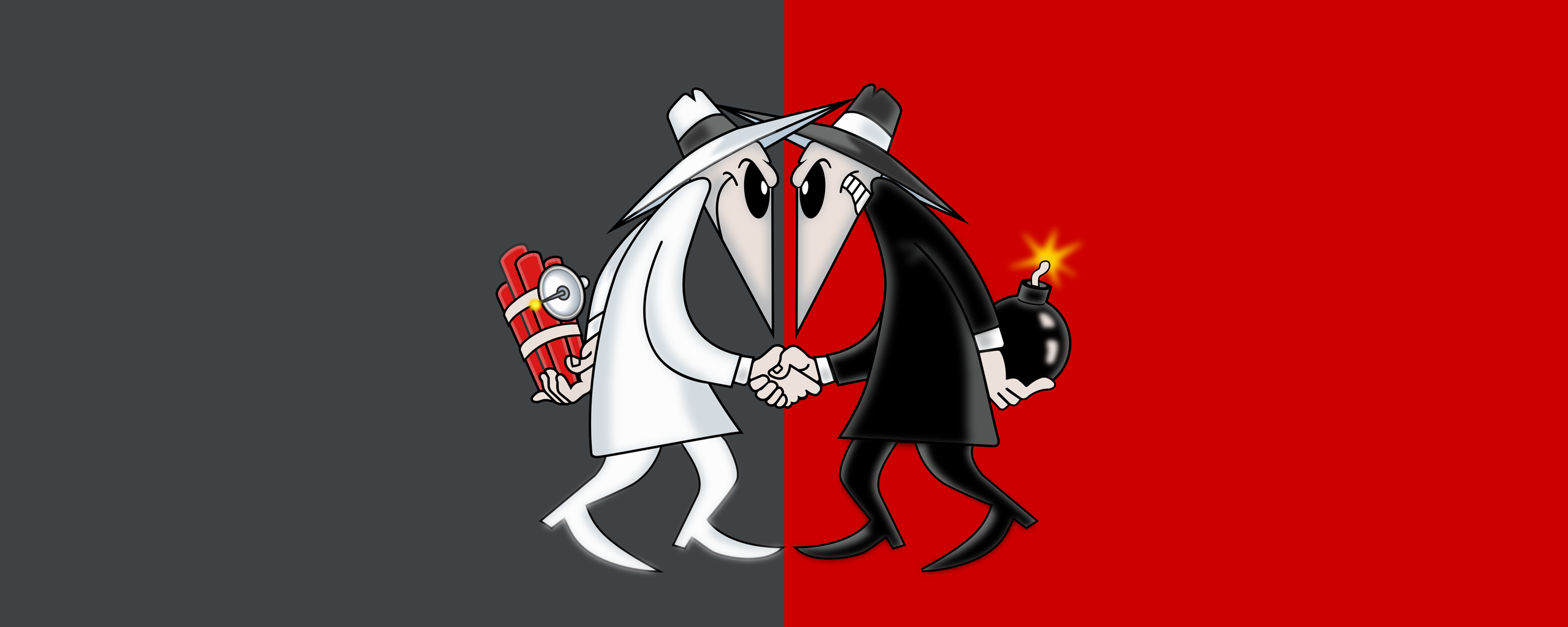 Spy vs Spy WallPaper 2560X1024