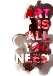 Art is all you need III by A-maryllis