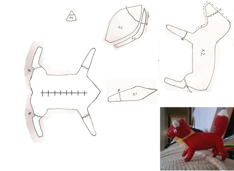 Dog Toy Sewing Pattern Free
