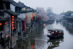 Xitang, Zhejiang, China by shenxy