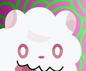 Pokemon Selfies: Week 4- Fairy Swirlix by OrangeLoop
