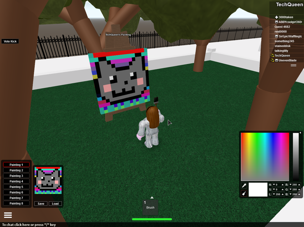 Roblox Painting: Nyan Cat By TheMysteryGirlGamer On DeviantArt