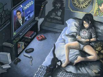 Gamer Girl by KaceyM