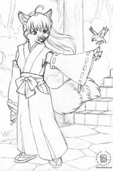 Kitsune Miko