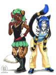 Alida and Kamaria