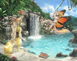 Tropical Lagoon by KaceyM