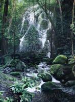 Rainforest Falls by KaceyM