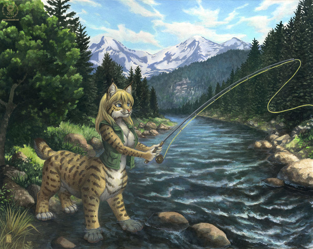 Gone Fishing by KaceyM