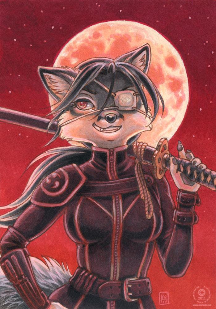 Blood Moon by KaceyM
