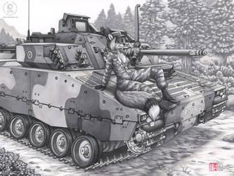 Tank Vixen by KaceyM