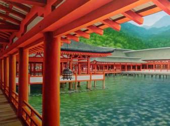 Itsukushima by KaceyM