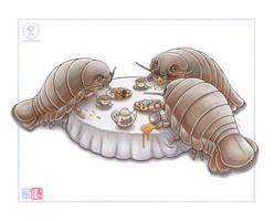 Isopod Tea Party