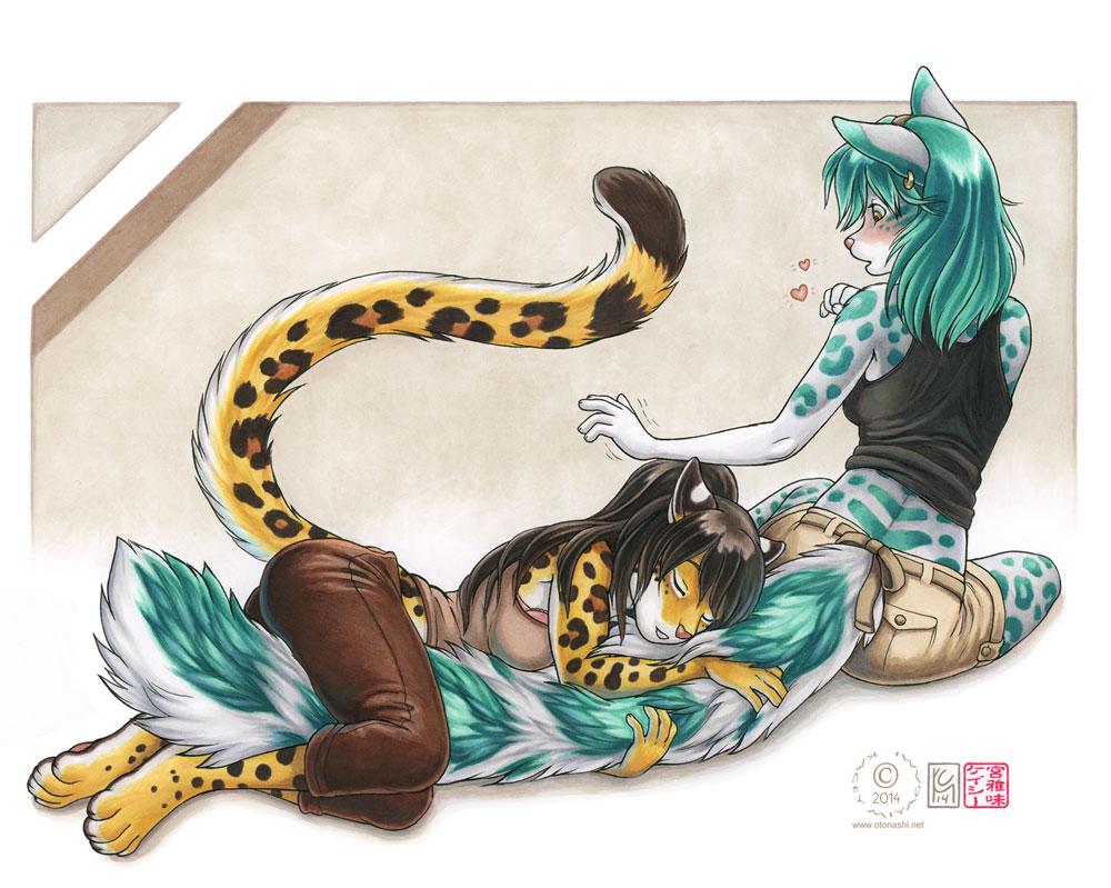 Cuddly Tail by KaceyM