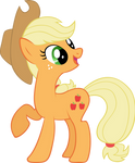 Applejack is Happy