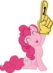 Pinkie Pie Giving a Big Hand