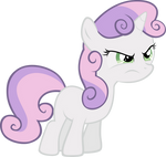 Sweetie Belle is Having None of Your Sass