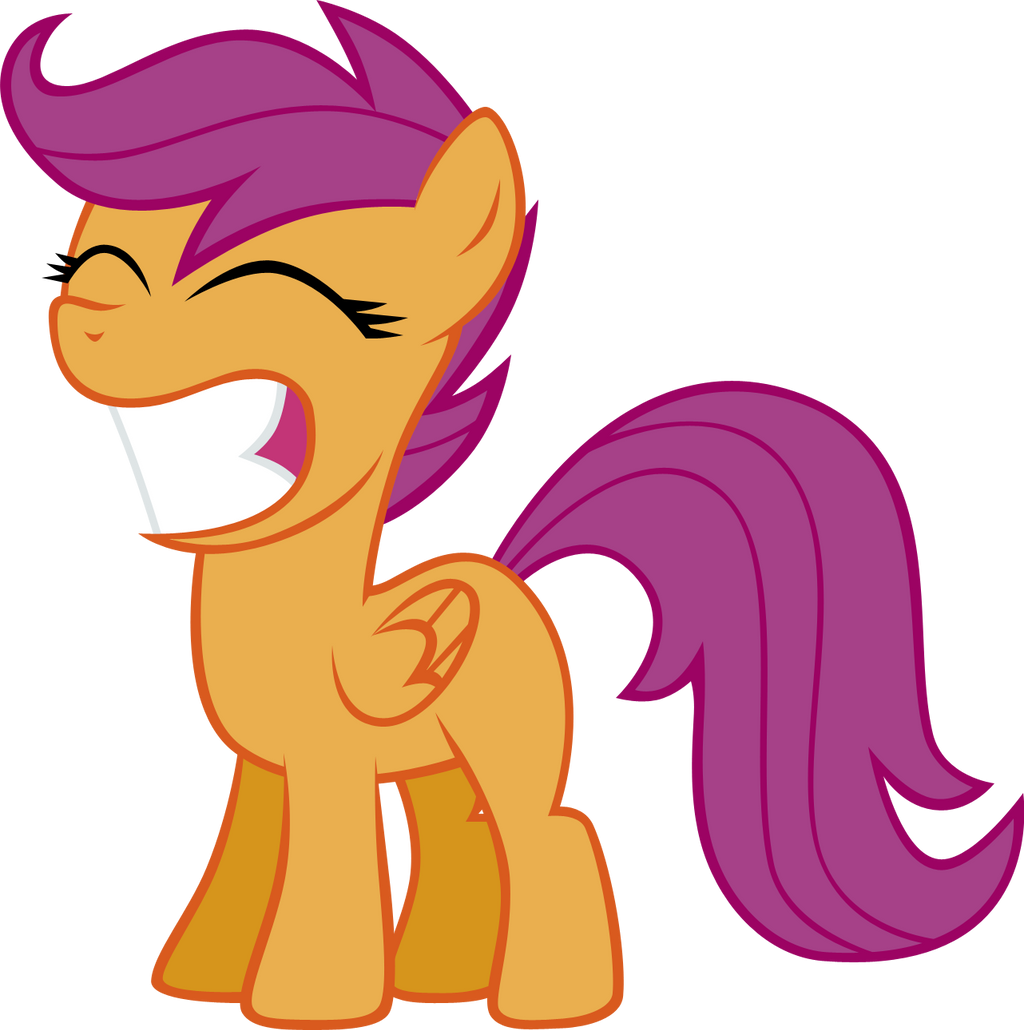 Scootaloo Got A Turkey by elegantmisreader