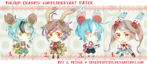 [CLOSED] Folium Charms: Complimentry Patch