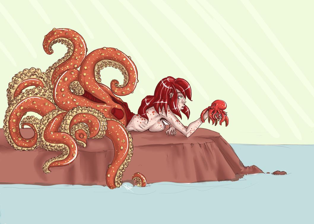 Half octopus half human - photo#3